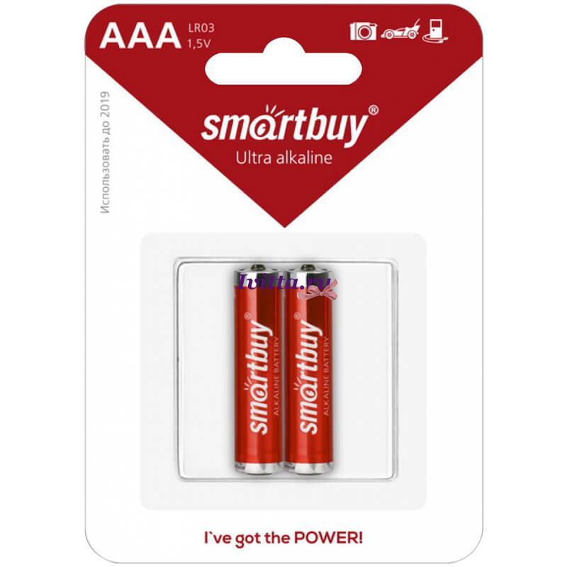 Батарейка SmartBuy LR03 BC2 (AAA) 2шт.