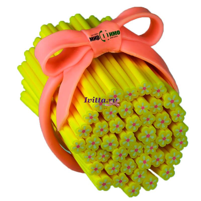 Палочка фимо Желтый цветок