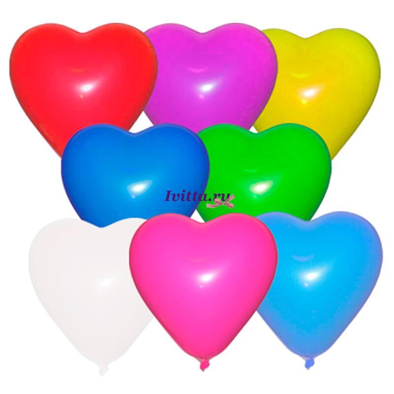 Шары воздушные Сердце 12