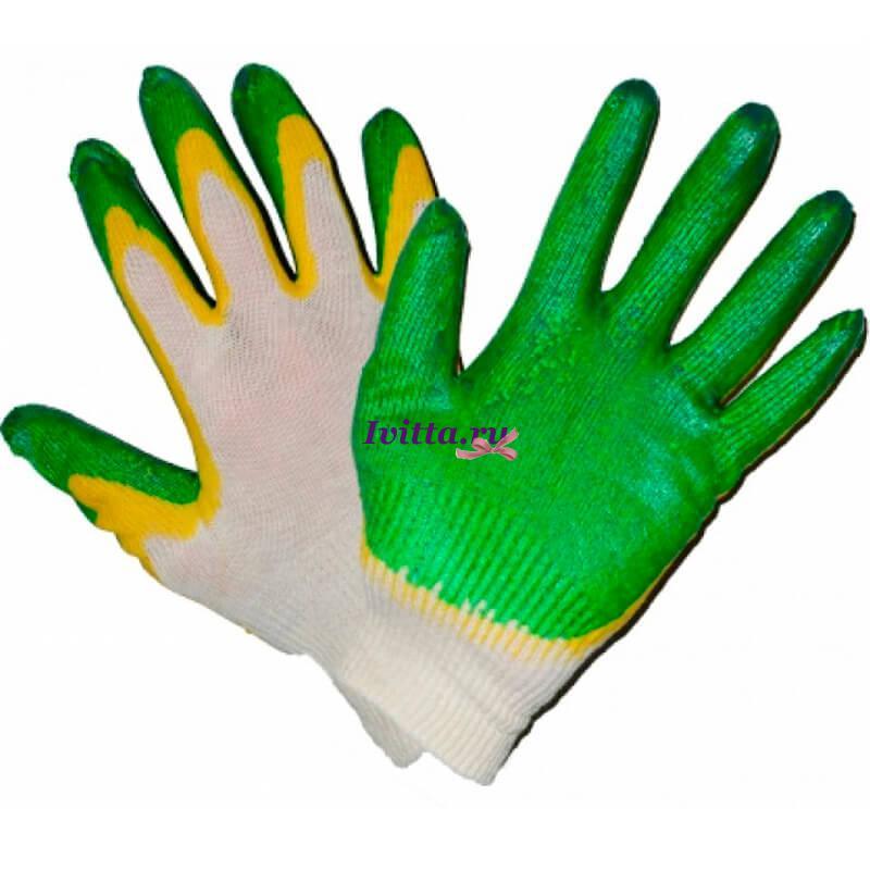Перчатки Огородник (двойной облив)