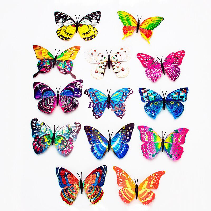 Фигурка Бабочка на металлическом стержне