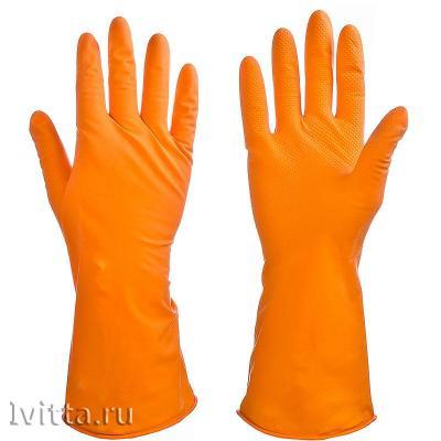 Перчатки резиновые для уборки Размер L
