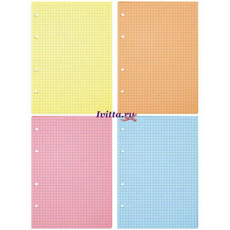 Сменный блок А5 200л четыре цвета