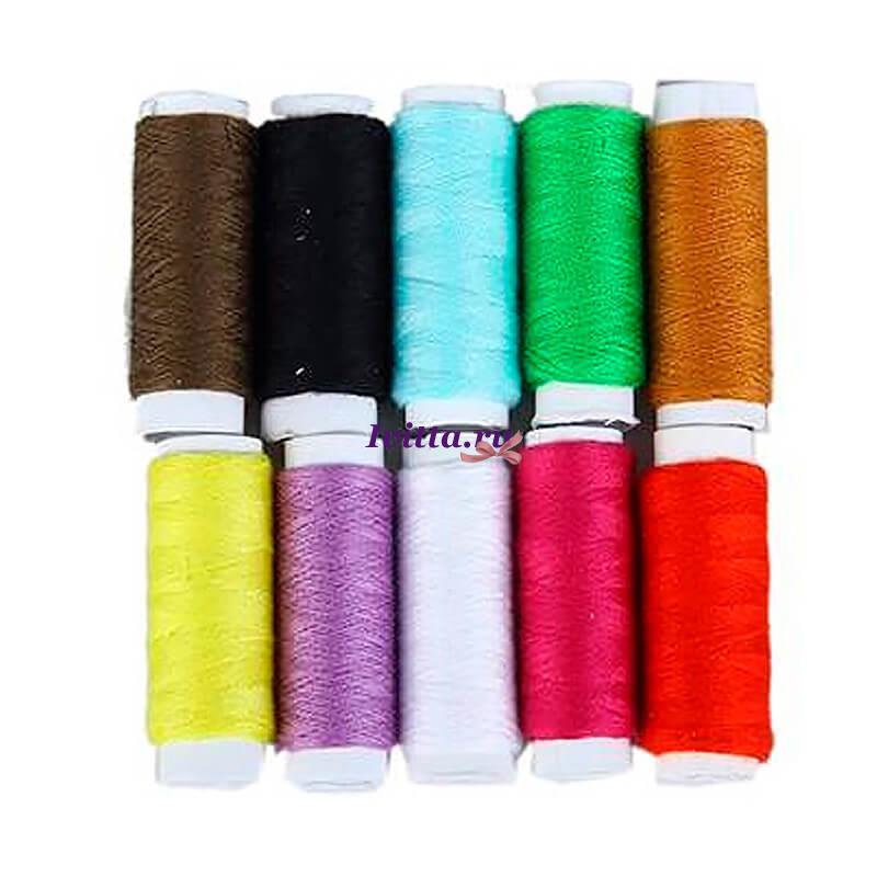 Набор цветных ниток (10шт.)