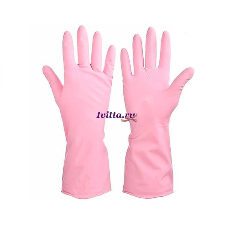 Перчатки резиновые прочные с запахом лаванды