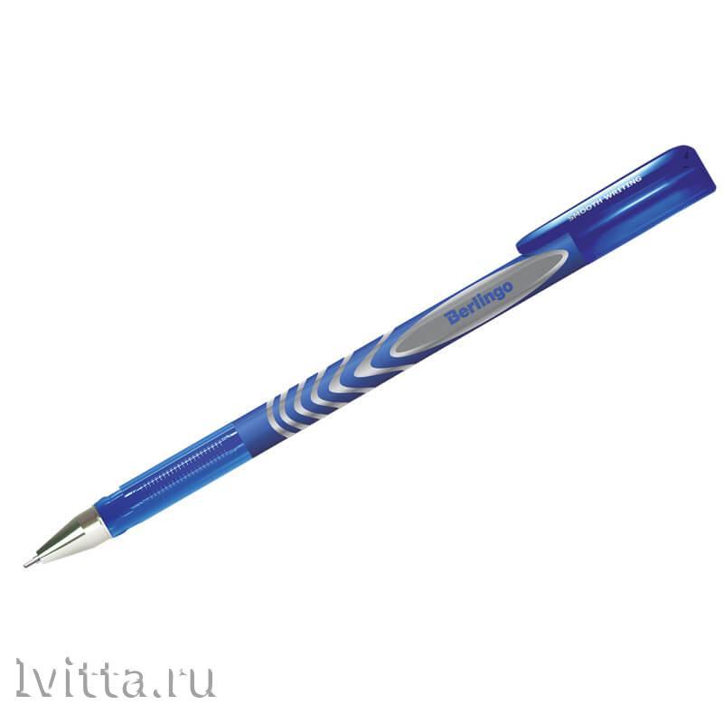 Ручка гелевая Berlingo G-Line синяя 1+1