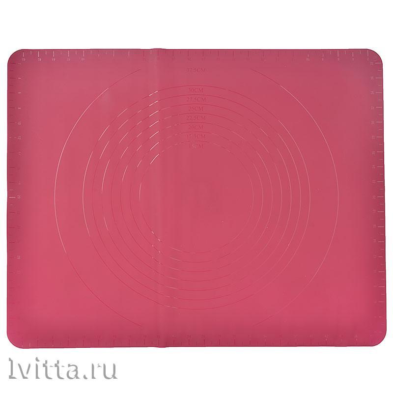 Коврик силиконовый для раскатки теста 50*40
