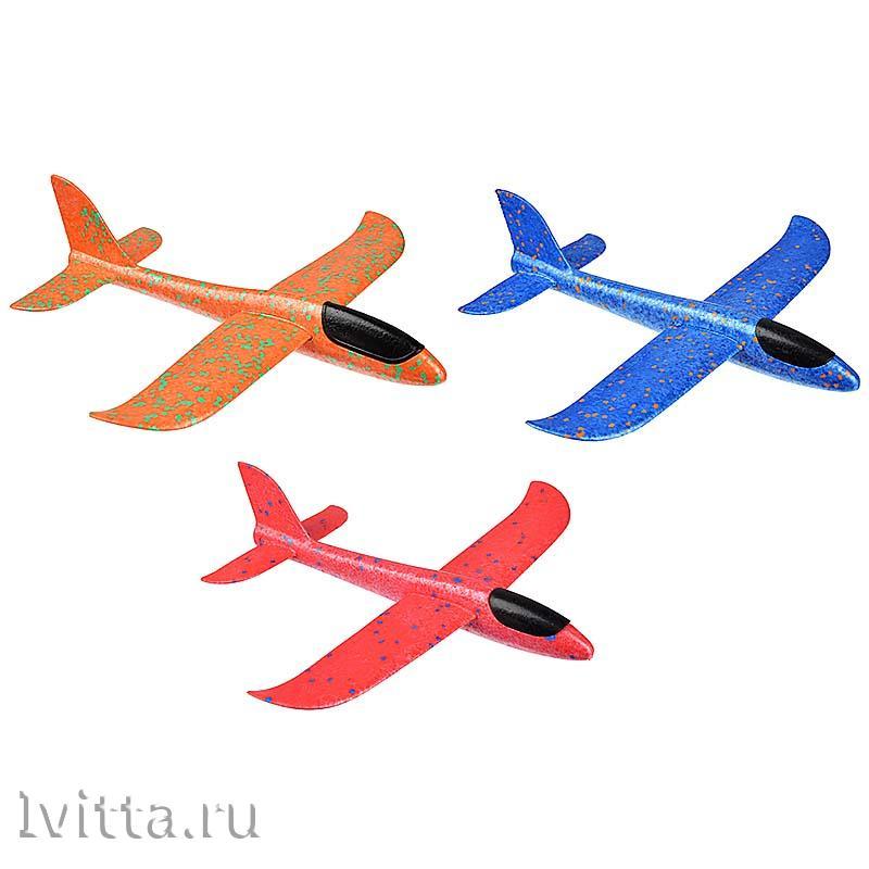 Самолет-планер, полимер, 37*9*35