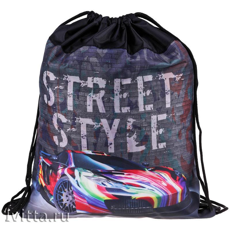Мешок для обуви 1 отделение ArtSpace Street style, 350*430мм