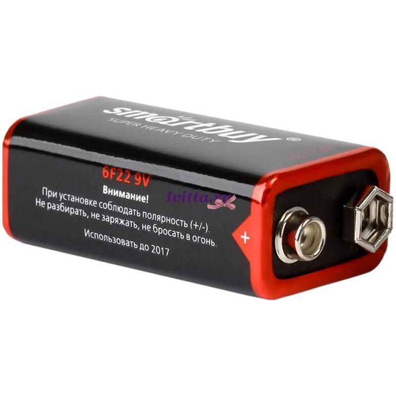 Батарейка КРОНА SmartBuy 6F22 OS1