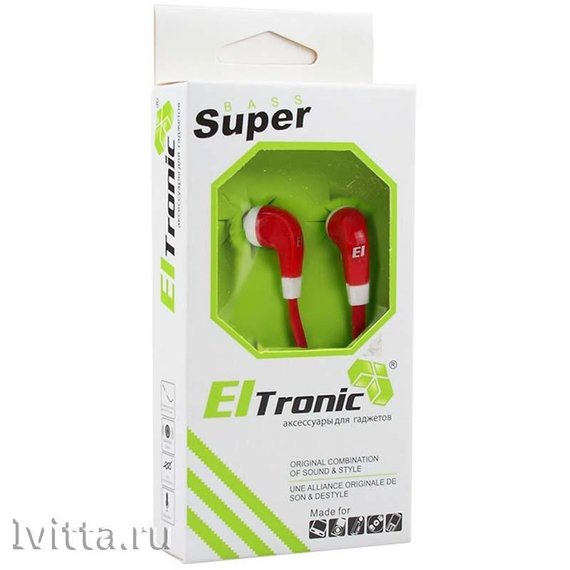 Наушники Eltronic Super Bass (красные)