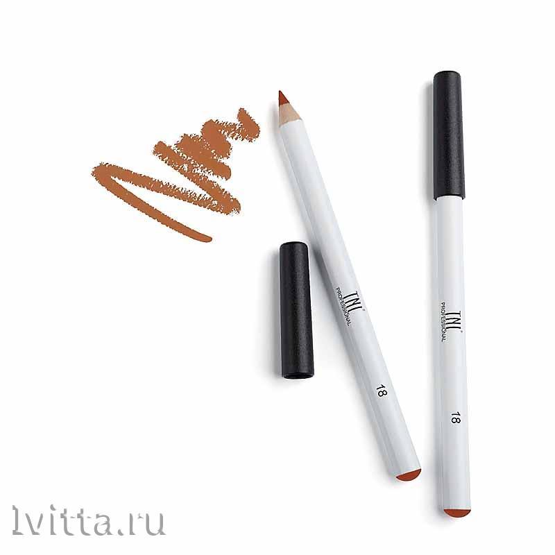 Карандаш для губ TNL Stable contour №18 Spicy cinnamon