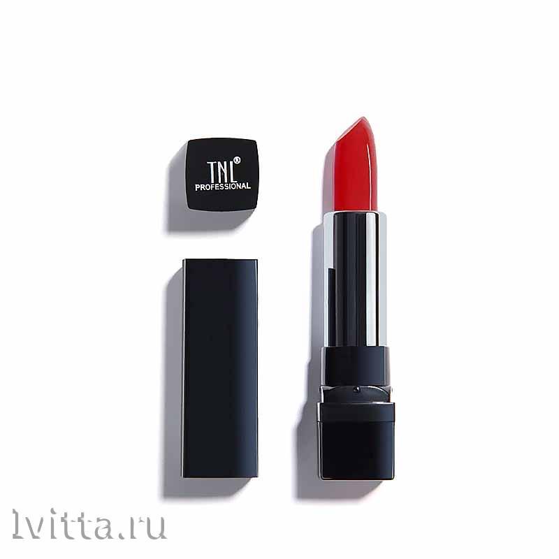 Помада губная TNL Эффект кашемира №09 Classic red