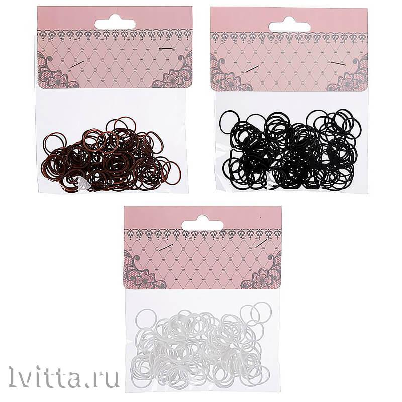 Набор резинок для волос (95-100шт.) силикон