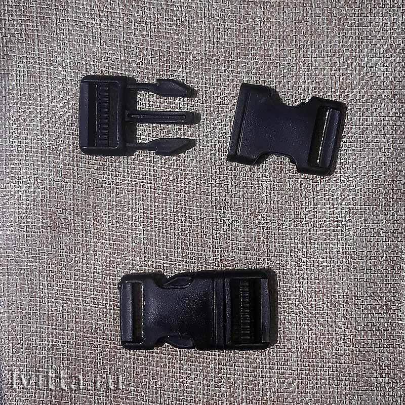 Фастекс 6 * 2 см (черный)