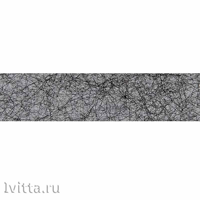 Паутинка клеевая для ткани (черная) 15мм*3м