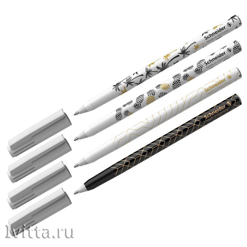 Ручка шариковая Schneider Tops 505 F Tropical синяя 0,8мм