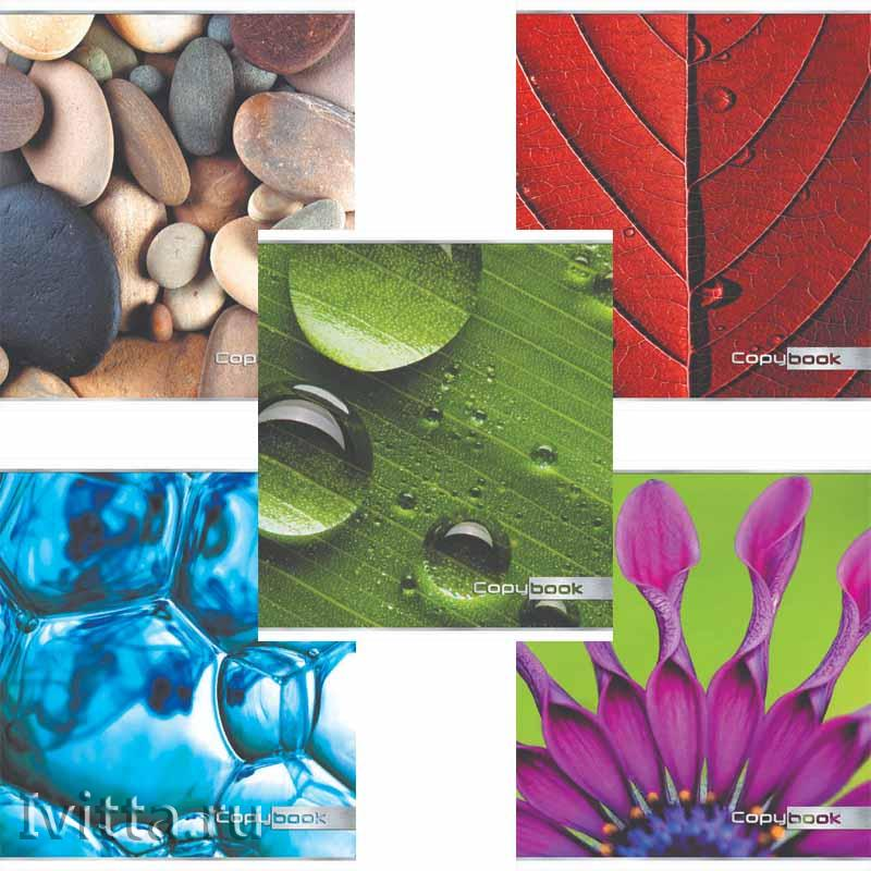 Тетрадь 48 листов ПЗБМ Природная текстура (клетка)